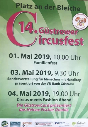 Circus meets fashion  in Güstrow