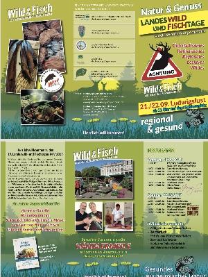 Landeswild- und Fischtage im September